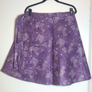 Handmade African Print wrap skirt/dress